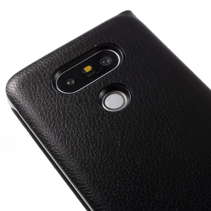 LG5 / G5SE غطاء واقي بي يو جلدي لاجهزة 7