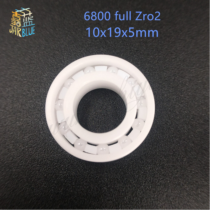 Free shipping 6800 ZrO2 full ceramic deep groove ball bearing 10x19x5mm 61800 bearing P5 ABEC5 free shipping 605 full zro2 ceramic deep groove ball bearing 5x14x5mm good quality p5 abec5