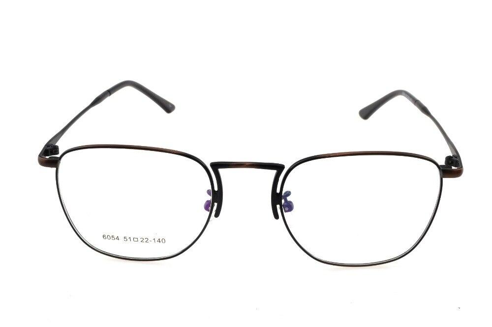 0459b8f4ea0 Titanium Alloy Retro Bronze Eyeglasses Frame Optical Custom Made  Prescription Reading Glasses Progressive Photochromic +1 To +9-in Eyewear  Frames from ...