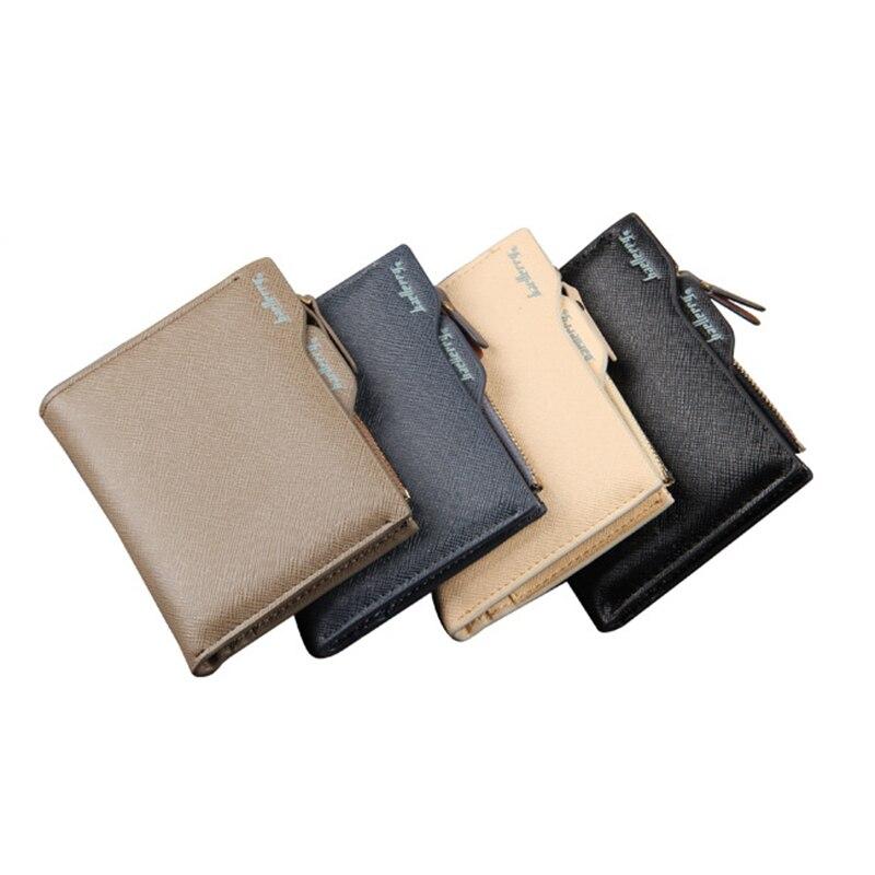 Wallet Men Leather Wallets Male Money Purse Seperate ID Card Holder Genuine Coin Pocket Brand Design Billfold Maschio Clutch