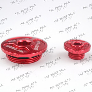 NEW RED Engine Timing Plug Cover For Honda CRF 150R/F 250R 450R/X 230F 250L/M 250 Rally 1000L 2017 XR 250 400 TRX 400EX 450R/ER(China)