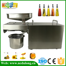 DE Stock 220V Heat And Cold Home Oil Press Machine Peanut Cocoa Soy Bean Oil Press