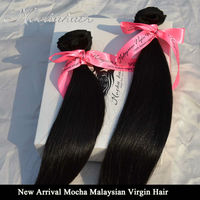 """Unprocessed Mocha Hair 3PCS/Lot 8""""-26"""" Malaysia Straight Virgin Hair Extension Hair Weave wholesale Natural Color Tangle Free"""