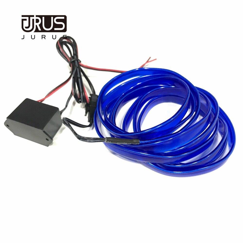 JURUS 3Meter prilagodljive avtomobilske luči z neonskimi el žicami - Avtomobilske luči - Fotografija 6