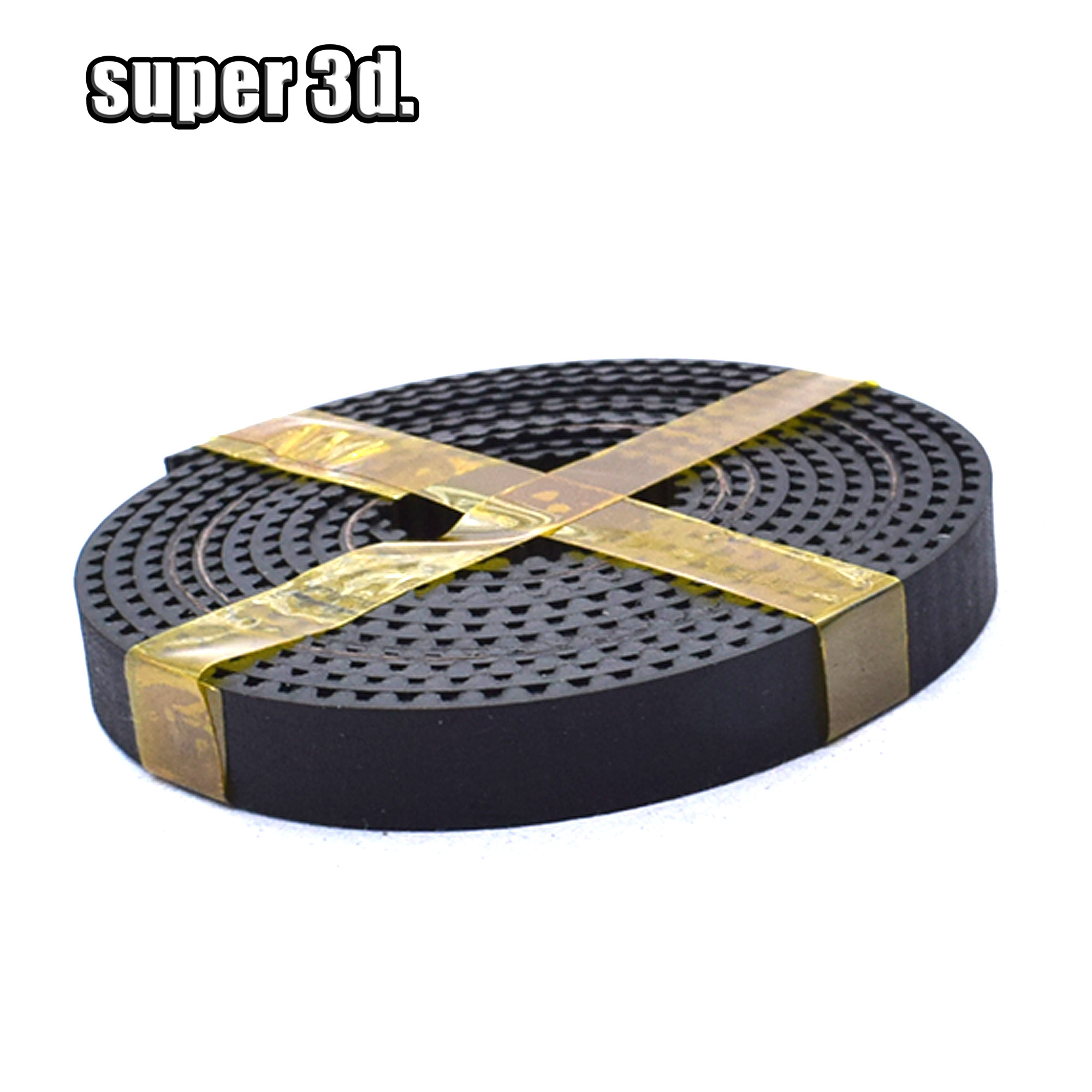 For 6/10mm Timing Pully 3D Printer Moving Parts 1meter Open Timing Belt Rubber Belt 2GT/GT2