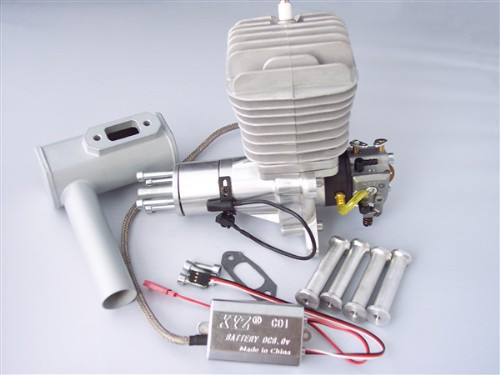 XYZ 50S 50CC Gasoline Engine / Petrol Engine for RC Airplane xyz 20cc gasoline engine petrol engine for rc airplane