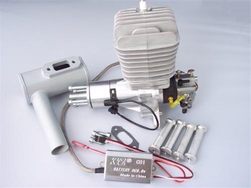 XYZ 50S 50CC Gasoline Engine / Petrol Engine for RC Airplane xyz 53s ts 53cc double cylinder two stroke gasoline engine petrol engine for rc airplane