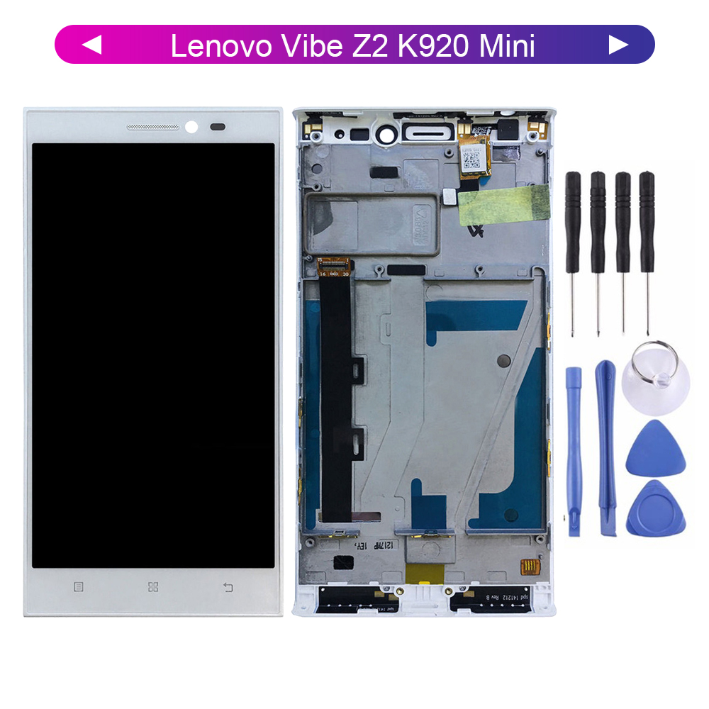 For <font><b>Lenovo</b></font> <font><b>Vibe</b></font> <font><b>Z2</b></font> K920 Mini <font><b>LCD</b></font> <font><b>Display</b></font> Digitizer <font><b>Touch</b></font> <font><b>Screen</b></font> Sensor Assembly with Free Tools image
