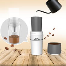 Fashion 400ml Drip Coffee Cup Camping Equipment Coffee Water Bottles Dripper With K Cups Simple Portable Coffee Tool Maker