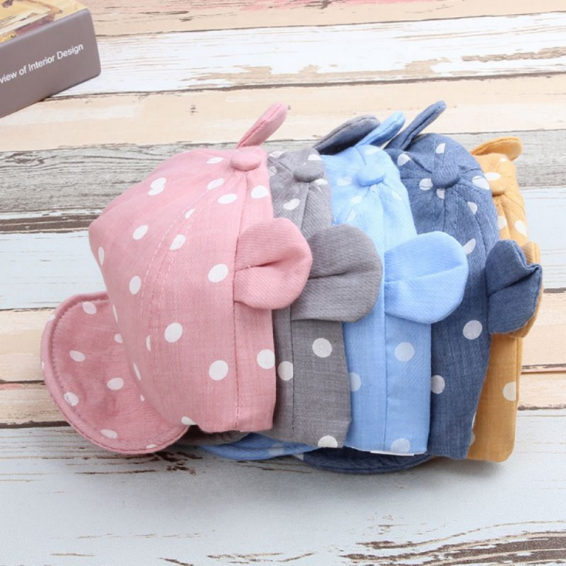 חדש מתוק תינוק הנערה בנים כובע קיץ קיץ - ביגוד לתינוקות