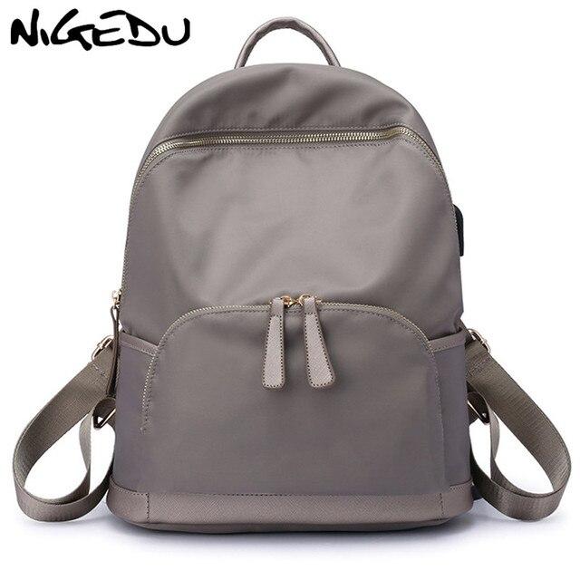 e63e6ccd9a Imperméable Oxford femmes sacs à dos Grande Capacité sacs d'école pour les  Adolescents Fille