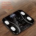 Горячая английская версия электронные умные весы для взвешивания тела ванной комнаты Fat b mi весы цифровые человеческие весы mi напольные ЖК-д...