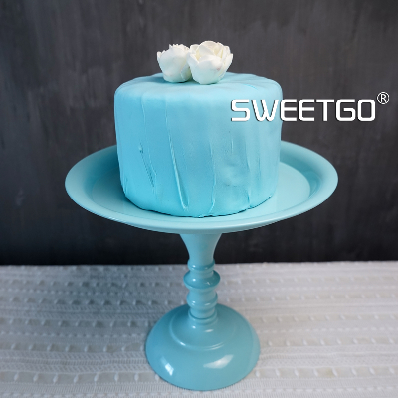 Fondant cake stand Cupcake holder tools accessory for wedding party white/ Tiffany blue Bakeware tools table decoration-in Stands from Home u0026 Garden on ... & Fondant cake stand Cupcake holder tools accessory for wedding party ...