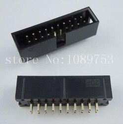 100pcs IDC Box header DC3 DC3-20P 2x10 pins 20P 2.54mm Pitch