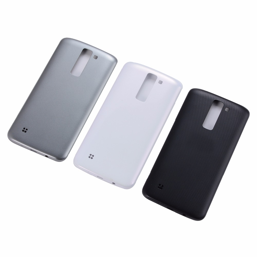 For LG K7 2016 Battery Back Cover For LG K7 2016  Housing Battery Cover Rear Door Case Free Shipping
