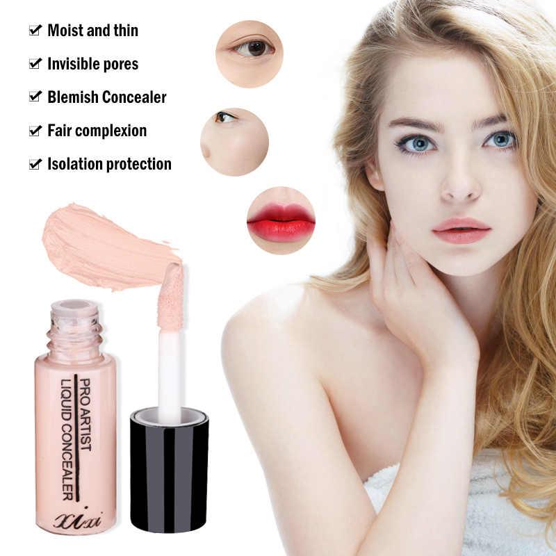 Base líquida para rosto de longa duração, almofada facial para base corretiva, cobertura de rosto, círculo escuro, corretivo, vara 3.5g