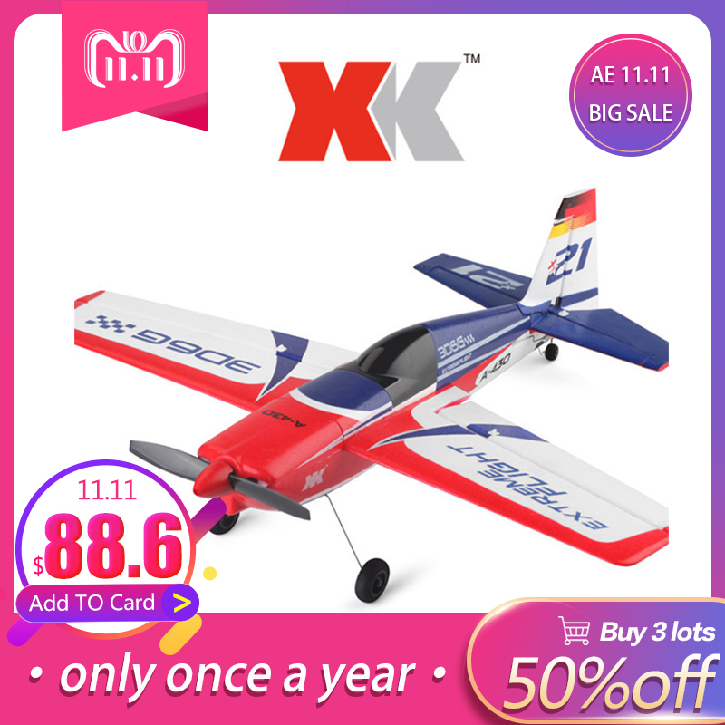 LeadingStar XK A430 XK A-430 Drone with 2.4G 8CH 3D6G Brushless Motor Remote Control Dron Airplane zk49 цена