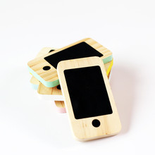 Nordic INS Baby Room Wooden Toys Phone Rewritable Message Bo