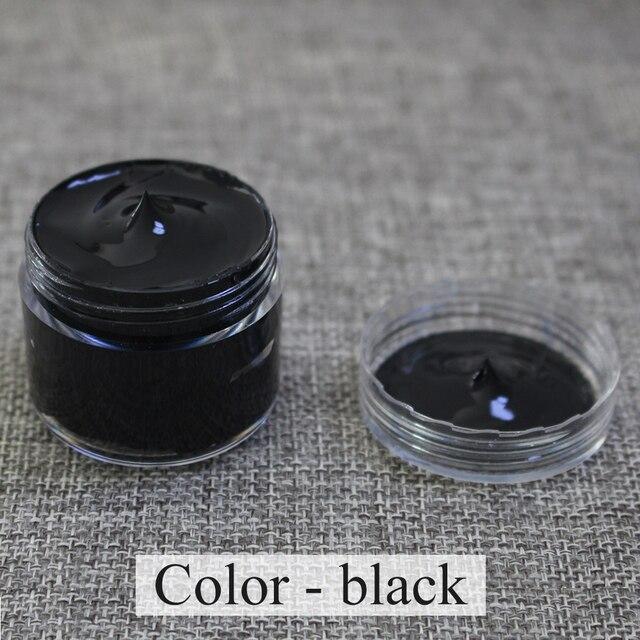 Coloração Coloração Colar de Couro Colar-Preto-Laranja de couro, couro do Saco, sofá, Sapatos, roupas, reparação ou Mudança de Cor de Couro