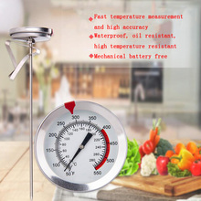 цены на Barbecue Meat Thermometer Dial Temperature Metering Cooking Food Thermometer Probe Household Oven Thermometer Tool в интернет-магазинах