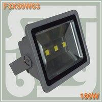 Бесплатная доставка Водонепроницаемый IP65 150 Вт высокой мощности Светодиодный прожектор Открытый Настенные светильники стирка 3x50 Вт светод...