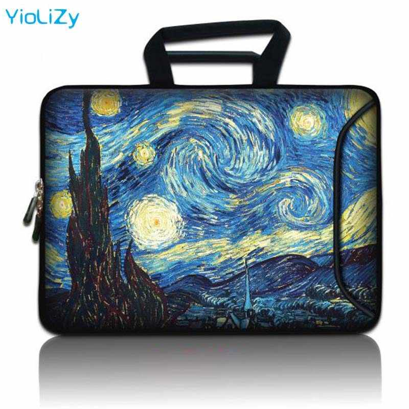 Van Gogh Cetak Laptop Pouch Tablet Tas 9.7 12 13 14 15.6 Notebook 17.3 Case Pelindung Lengan untuk Cover Macbook Air 13 SBP-24818