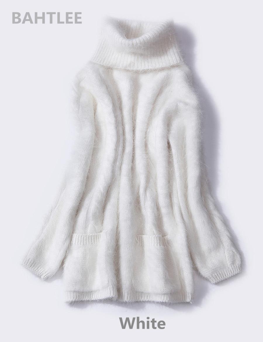 fa024f7f27dc Compre BAHTLEE 2018 Jerseys De Conejo De Angora De Mujer Suéter De ...