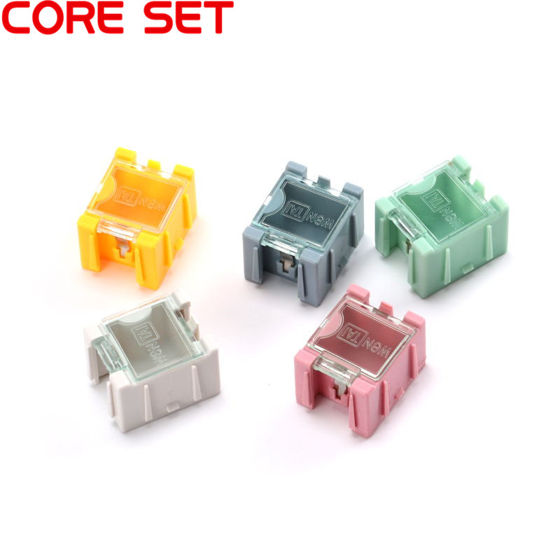 5pcs SMD SMT Electronic Component Tool Mini Storage Box Practical Jewelry Storaged Case High Quality