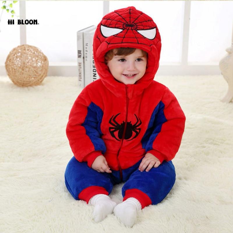 Promotion Price New Thicken Winter Newborn Unisex Animal Style Cotton Soft Jumpsuit Children Outerwear Baby Warm