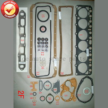 2F Engine complete Full gasket set kit for Toyota LAND CRUISER/BANDEIRANTE 4.2L 4230CC 1975-1987 50167800