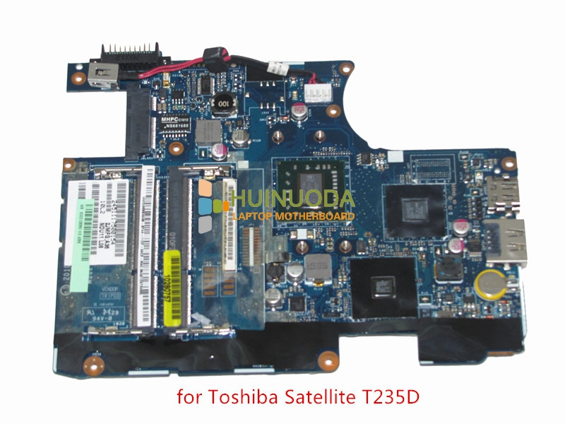 все цены на  Mainboard LA-6032P K000106360 For toshiba satellite T235 T235D Laptop motherboard AMD DDR3 Turion Neo TMK625 CPU onboard  онлайн