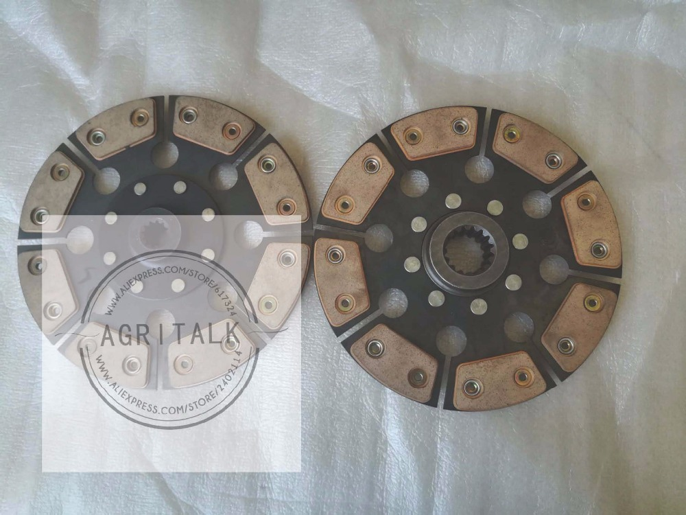 TE300.211D.1+TE300.211D.2, the set of clutch driven plate with PTO plate, the strengthened type for Foton series tractor цена
