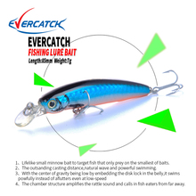 EVERCATCH 85mm/7g Minnow Lures Sinking Swimbait Fishing Wobblers Iscas Artificiais Para Pesca Leurre Souple Fishing Tackle Lure noeby fishing lures 50mm 0 7g 75mm 2 2g soft bait leurre souple dur peche iscas artificiais para pesca fishing wobbler