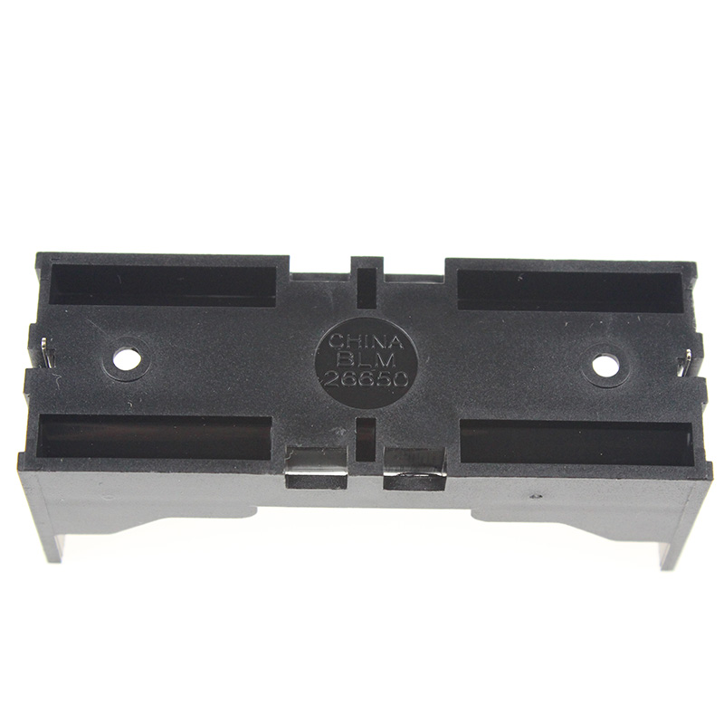 Cheap 1pcs/lot 26650 Battery Storage Box 26650 Battery Holder Black Plastic Case For 26650 3.7V Lithium Battery