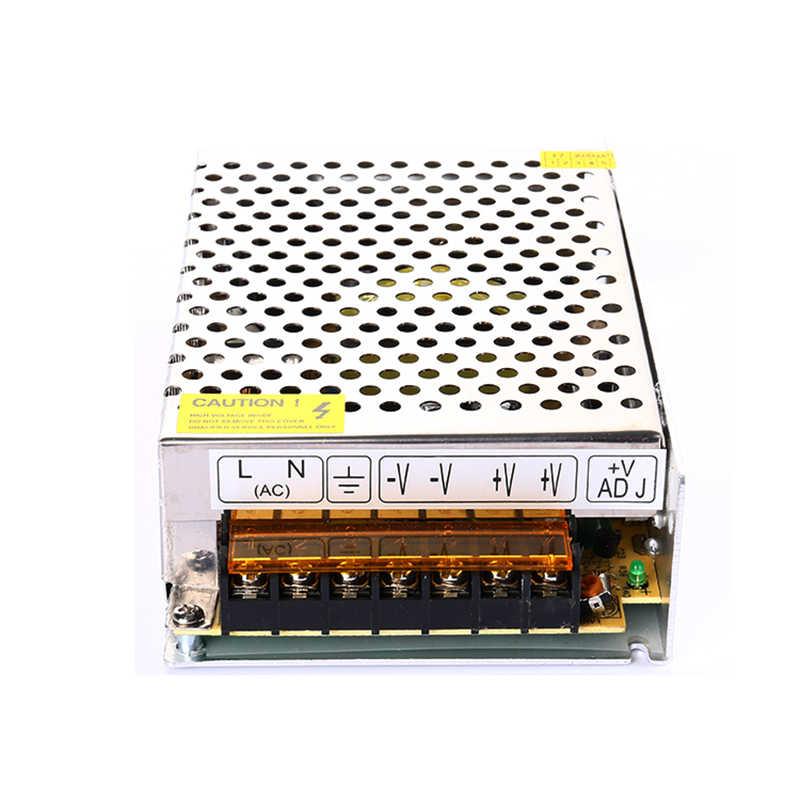 DC12V 10A 120 w Adaptador de Energia/fonte de alimentação para LED tira levou módulo, 1 pc/lote frete grátis transformador de iluminação