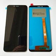Оригинальный черный/белый 5,7 дюйма для Lenovo K5 Play L38011, полный ЖК дисплей, сенсорный экран, дигитайзер в сборе, запасные части