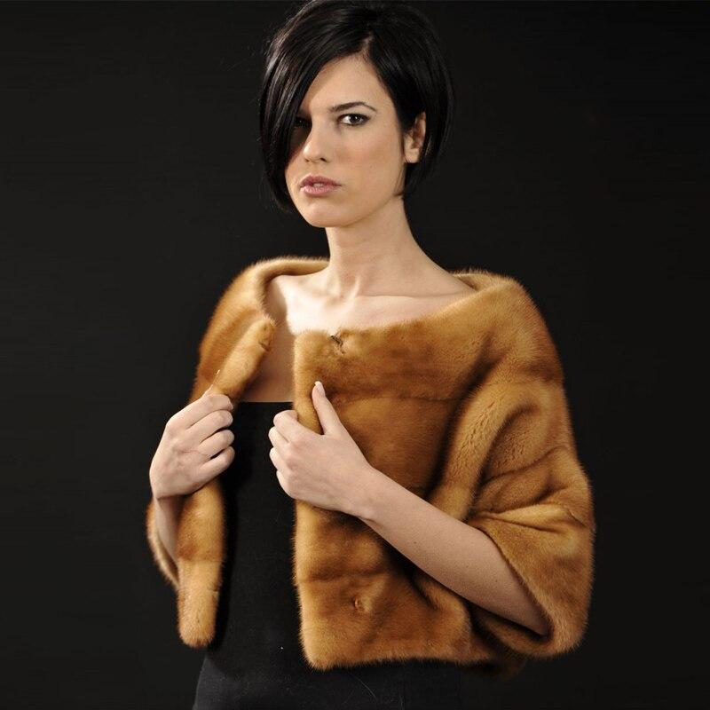 Tatyana furclub New Real Mink Fur Coat For Women Winter Fur Jacket Short Faashion Outwear Slim Casual Fur Parka Coats Solid Warm
