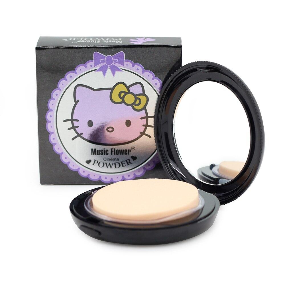 Musik Bunga Merek Wajah Makeup Hello Kitty Gaya Bedak Padat Palette Foundation Whitening Concealer Oil Control Di Dari Aliexpresscom Alibaba Group