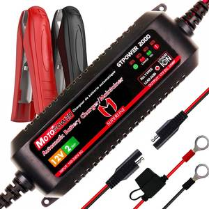 MOTOPOWER Car-Battery-Charger Lead-Acid Smart Automatic 12V for Both And Lithium-Ion-Batteries