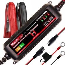 MOTOPOWER 2AMP Automatico Intelligente 12 V Caricabatteria da Auto batteria per entrambe le Batterie Al Piombo e Batterie Agli Ioni di Litio Moto Barca