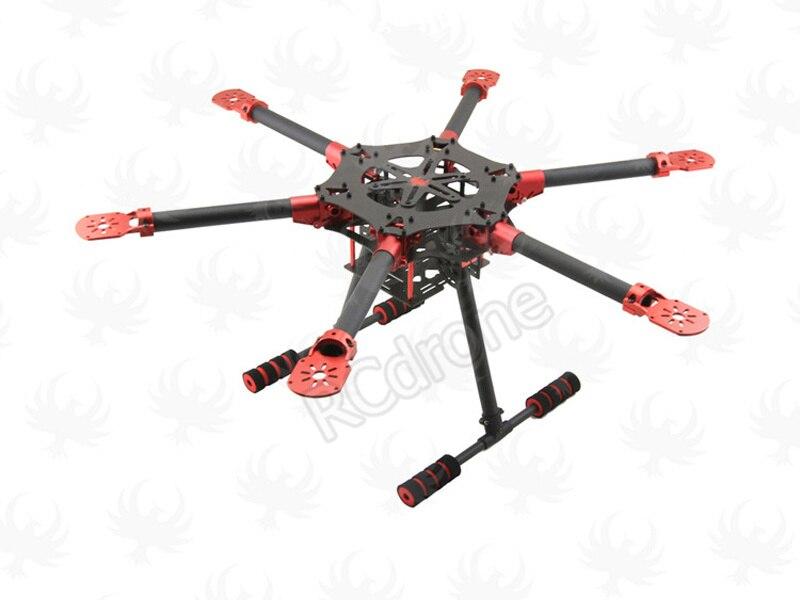 HF 750 мм углеродного Волокно складной FPV-системы чужой Quadcopter самолета Рамки комплект