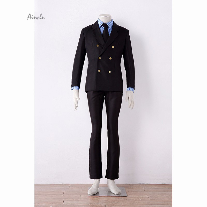 Ainclu Customize for adults and kids Free Shipping One Piece Sanji Two years After Suits Anime Adult Kid Cosplay Costume