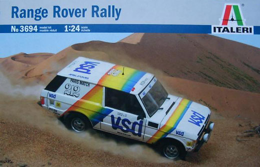 Italeri Plastic Model Kit 1 24 Rally Paris Dakar 3694