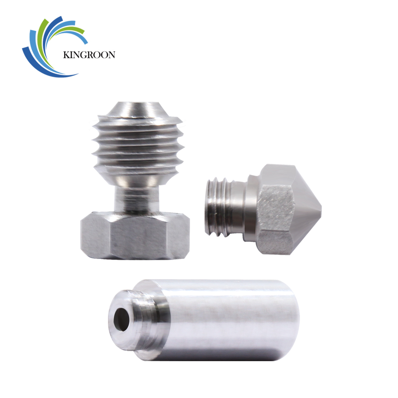 KINGROON New MK10 All Metal Hotend Conversion Kit 3D Printer Throat Nozzle Conversion Kit For 3D Printer Accessories 2