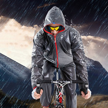 Waterproof Outdoor Sports Raincoat men/women Rain Jacket Rainwear Cycling Motorcycle Sets Adult coat