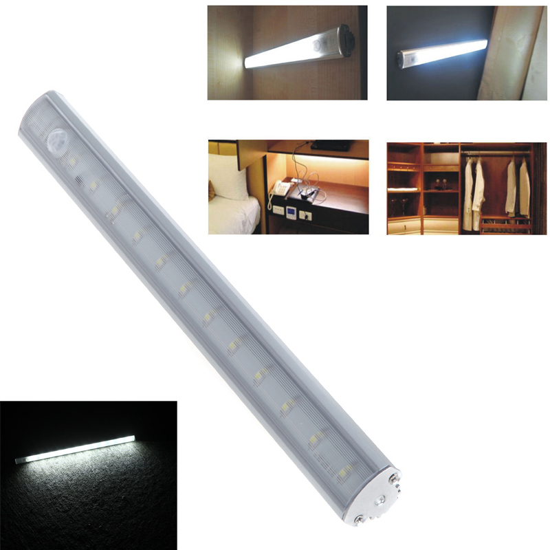 Led Cabinet Closet Light Pir Motion Sensor Lamp Led Blubs