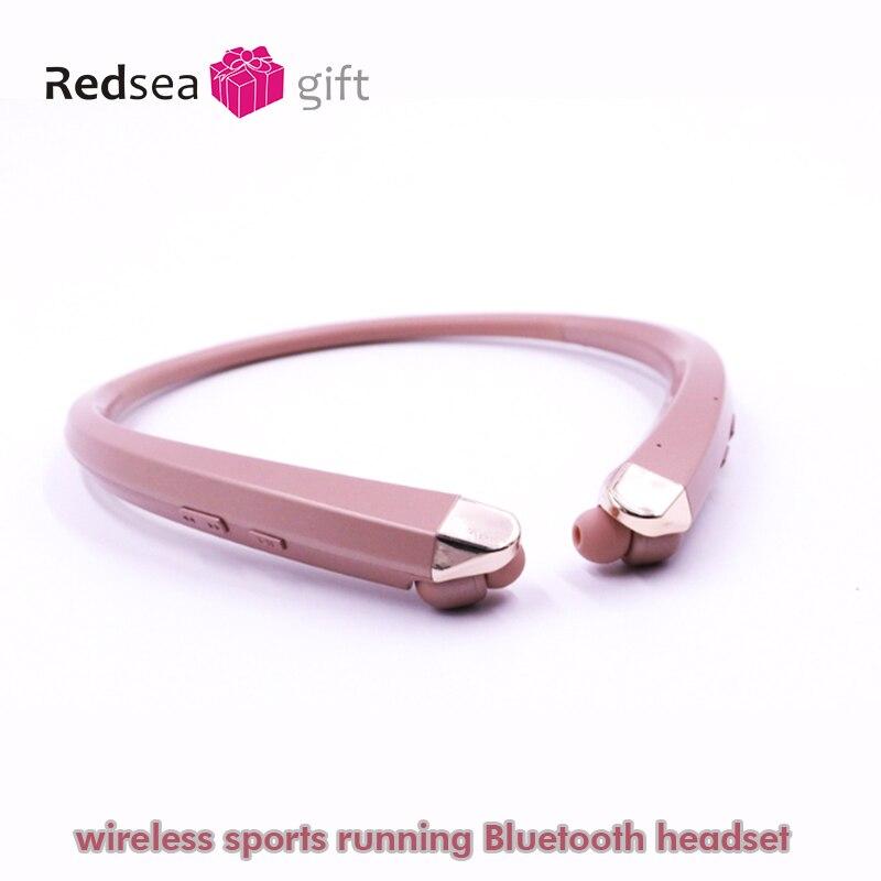Image 4 - Neck hanging Bluetooth headset наушники wireless sports 블루투스 이어폰 collar Bluetooth anti sweat  earbuds stereo headset with MIC-in Bluetooth Earphones & Headphones from Consumer Electronics