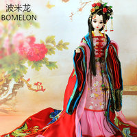 High end Handmade Chinese Dolls Ancient Costume Beauty Diao Chan 1/6 Bjd Jointed Doll Articulated Kids Toys Girls Birthday Gift