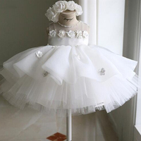 Girls Dress For Birthday Party Wedding Princess Toddler Children Dresses For Girls Baby Christening Ball Gown Kid Summer Clothes