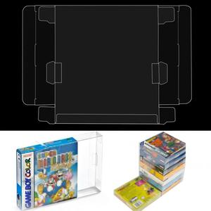 Image 3 - 10pcs Transparent Cartridge Protective Case Cover Protector Case for Game Boy Boxed Game